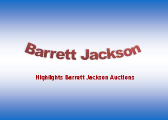 Barrett Jackson Timeline 1971 through 2017