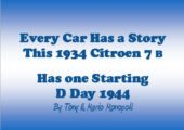 D Day 1944 Every Car Has A Story